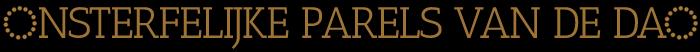 Onsterfelijke parels van de Dao Logo